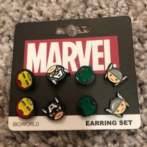 Marvel earrings